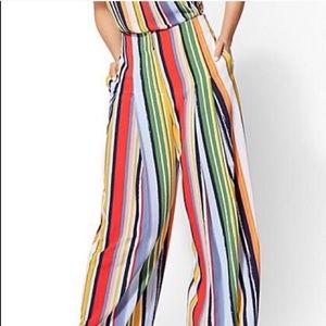 New York and company striped pants
